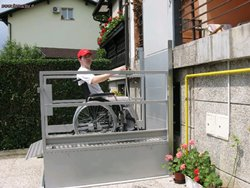Lifts for disabled persons